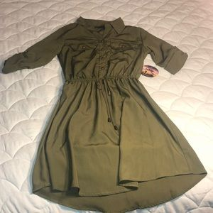 NWT Army looking dress